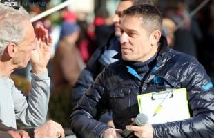 Giuseppe Marcellino speaker alla Maratona di Palermo