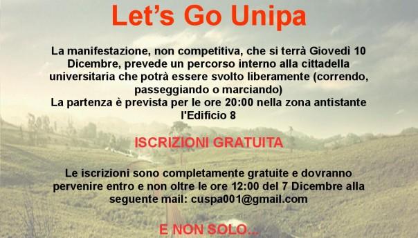 Let's Go Unipa: si corre, si passeggia, si marcia all'Università di Palermo