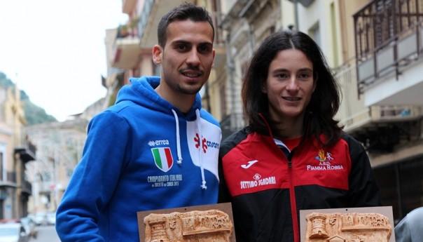 A Vincenzo Agnello e Barbara Bennici la Misilmeri Christmas  Run