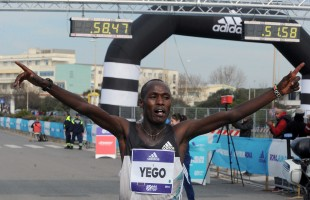 Roma Ostia velocissima: Solomon Kirwa Yego vince in 58'44