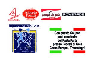 Trecastagni Star: prime novità. Il coupon per il pasta-party