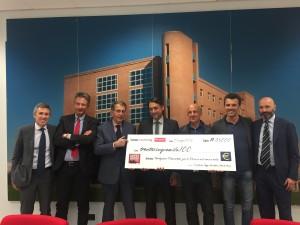 Mezza di Torino: 35.000 Euro donati alla Fondazione Piemontese per la Ricerca sul Cancro