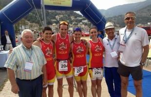 Triathlon d'argento ai Giochi delle Isole