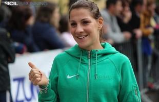 Silvia La Barbera ai  Campionati Italiani dei 10.000 su pista