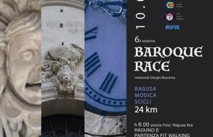 Il 10 luglio si corre la Baroque Race