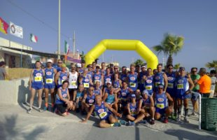 Trentasei atleti della Marsala doc all'Urban Trail di Petrosino