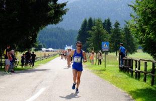 Ricatti inaugura l'albo d'oro della Cansiglio run