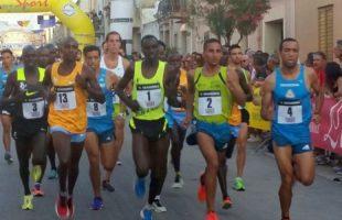 Volata Napola - Mokarta: in gara Rachik, Muhitira, El Mazoury, Chemutai e Floriani