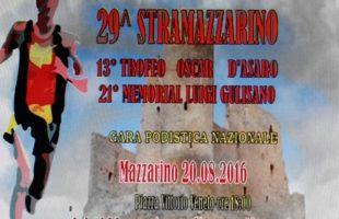 Sabato 20 agosto si corre la 29a Stramazzarino