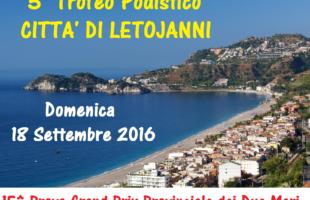 Il 18 settembre si corre il 5° Trofeo Letojanni