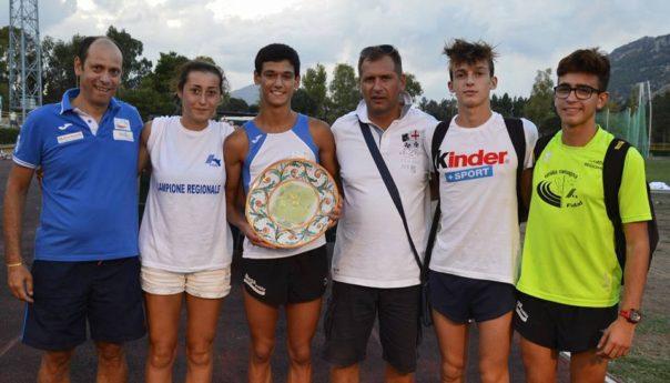 Assegnati i titoli regionali Allievi e Juniores...i neo campioni