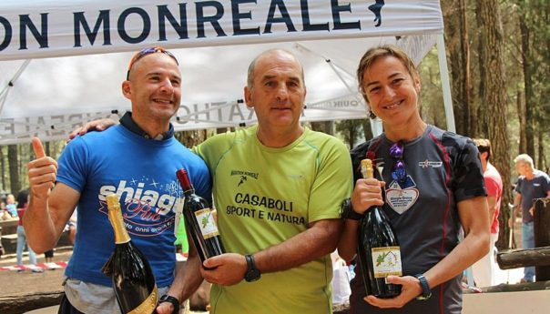 A Casaboli festa di natura e sport: vincono Notaro e La Pera