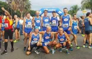 Otto atleti della Marsala Doc alla maratonina di Riposto