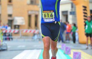 Vincenzo Pecunia, medico e Campione italiano Iuta della 100 km (SM60)