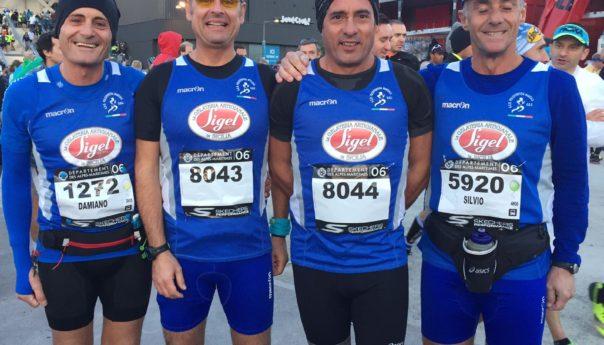 Atleti della Marsala Doc a Palermo e alla Nizza-Cannes
