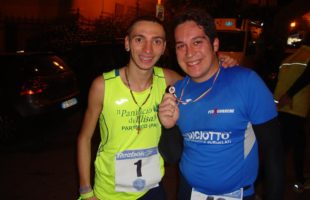 Trofeo podistico M.SS. Immacolata a Maria Grazia Bilello e Salvatore Pisciotta