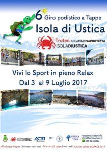 Prime iscrizioni d'oltre Stretto per il Giro Podistico a tappe Isola di Ustica