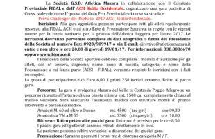 Il Cross Poggio Allegro apre il circuito BioRace 2017