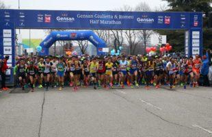 Gensan Giulietta e Romeo half Marathon dalle forti emozioni