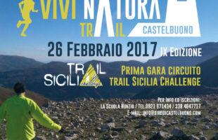 Si scaldano i motori per la 9a edizione del Vivintura Trail Castelbuono