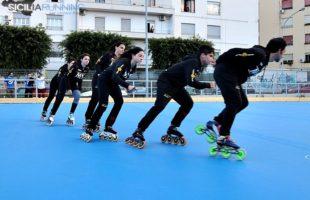Inaugurata la pista di pattinaggio di via Mulè a Palermo