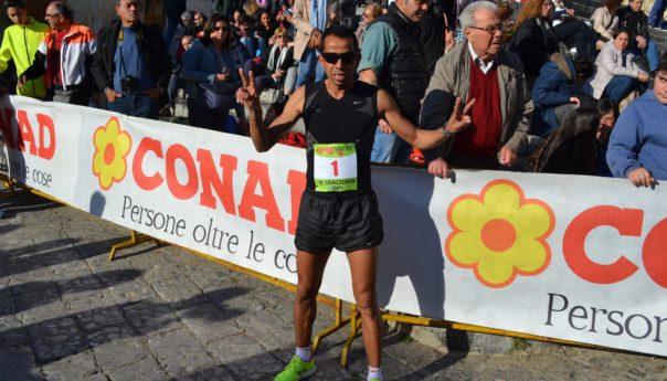 Running Sicily: al marocchino Mohammed Hajjy  la tappa di Cefalù