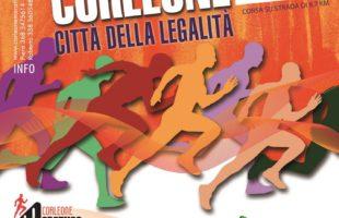 Il 21 maggio il 3° Trofeo podistico Corlone città della Legalità