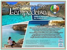 Giro podistico a tappe Isola di Lampedusa