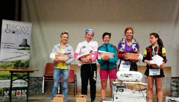 Tuscany Crossing: Protagonisti i siciliani in gara. Lara La Pera sul podio