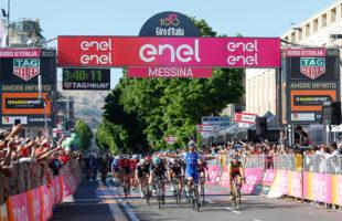 Giro d'Italia: Messina celebra Nibali. Vittoria di tappa a Fernando Gaviria