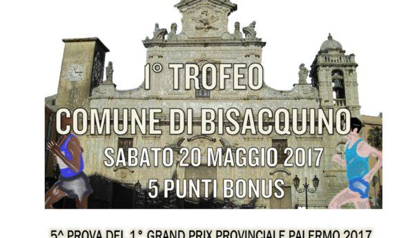 Sabato 20 maggio il 1° Trofeo Comune di Bisacquino