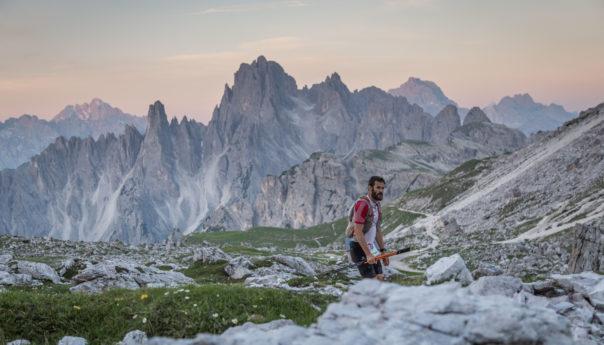 I francesi Antolinos e Chaverot vincono l' 11a edizione della The North Face® Lavaredo Ultra Trail