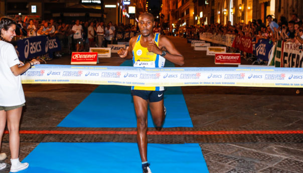 A Firenze si corre in notturna: vincono Chirchir e Marta Bernardi