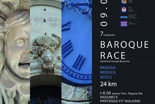Il 9 luglio la Ragusa-Modica-Scicli...la Baroque Race