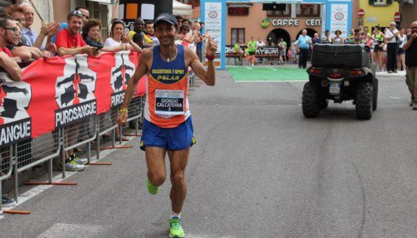 Giorgio Calcaterra alla Ivars Tre Campanili Half Marathon