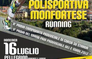 Presentazione ufficiale per il 2º Trofeo Polisportiva Monfortese Running