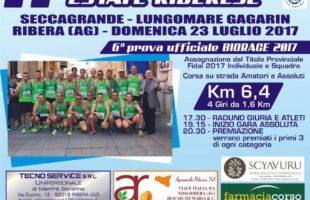 Seccagrande attende la carovana BioRace con il Trofeo Podistico Estate Riberese