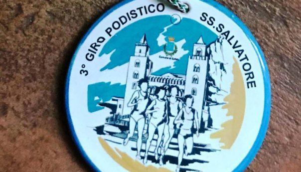 La medaglia del 3° Giro podistico SS. Salvatore