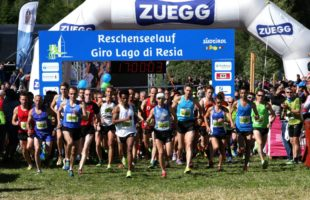 Giro del Lago di Resia: i top runner