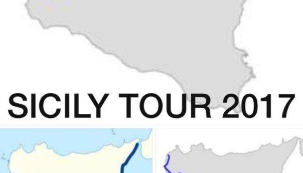 900 chilometri girando la Sicilia: Antonio Marzocchi sfida se stesso