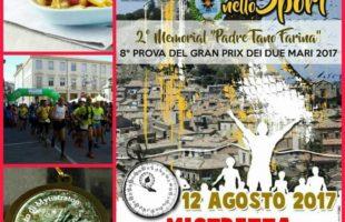 Città in Festa nello Sport: a Mistretta si corre ricordando Padre Tano Farina