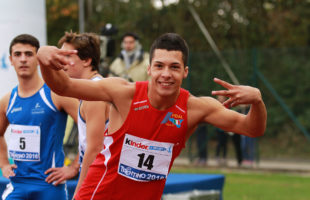 Raffaele Di Maggio ai  Campionati Mondiali paralimpici giovanili
