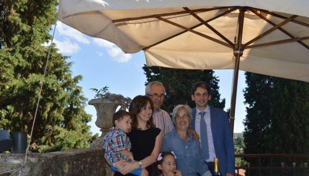 Il nostro Remigio Di Benedetto festeggia le nozze di rubino di Michelangelo Granata