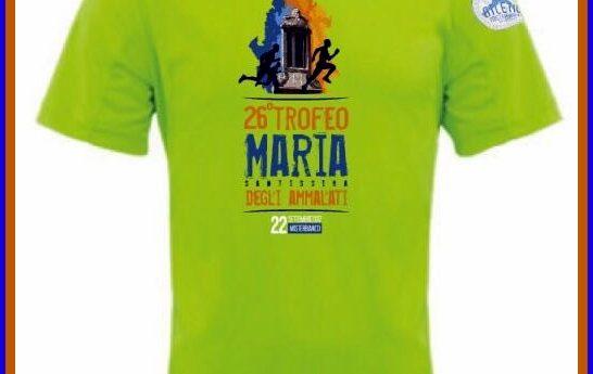 La maglia tecnica del Trofeo Maria SS. degli Ammalati: start alle ore 21