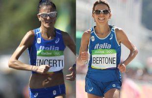 Anna Incerti alla Maratona di Berlino