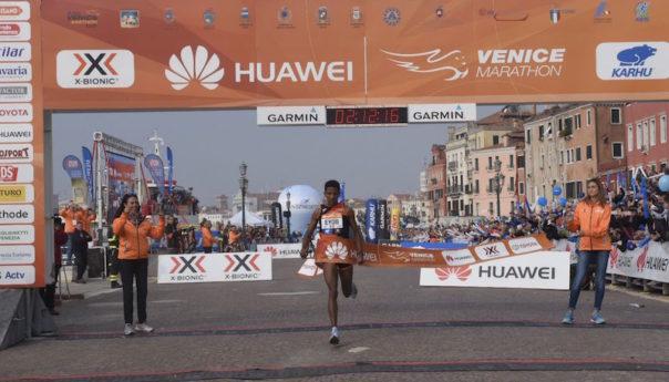 32^ Venicemarathon: vince Eyob Faniel e dopo 22 anni riporta l'Italia in cima al podio