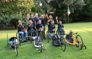 Il team di Obiettivo 3 alla 32^ Huawei Venicemarathon