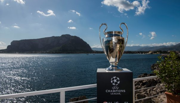 A Palermo l'UEFA Champions League Trophy Tour