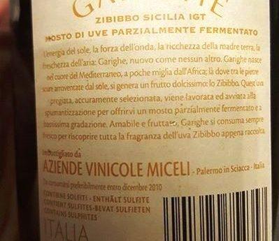 Vino scaduto alla mezza di Sciacca: risponde la casa vinicola