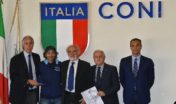 CONI: medaglia d'oro a Calcaterra e Cenci